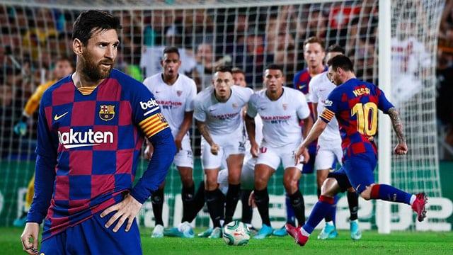 Lionel Messi free kick 2020 จอมสังหาร