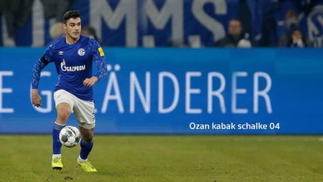Ozan kabak schalke 04 ปราการหลัง เป้าหมาย